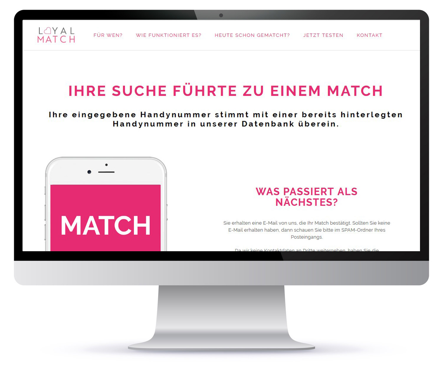 Screen-Ergebnis-Loyal-Match